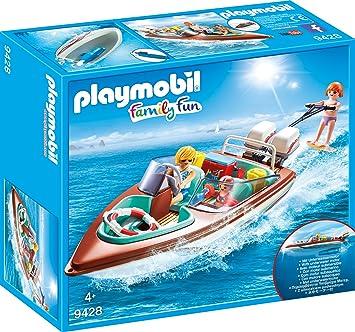 Playmobil 9428 Motorboot Mit Unterwassermotor Spiel Amazon De