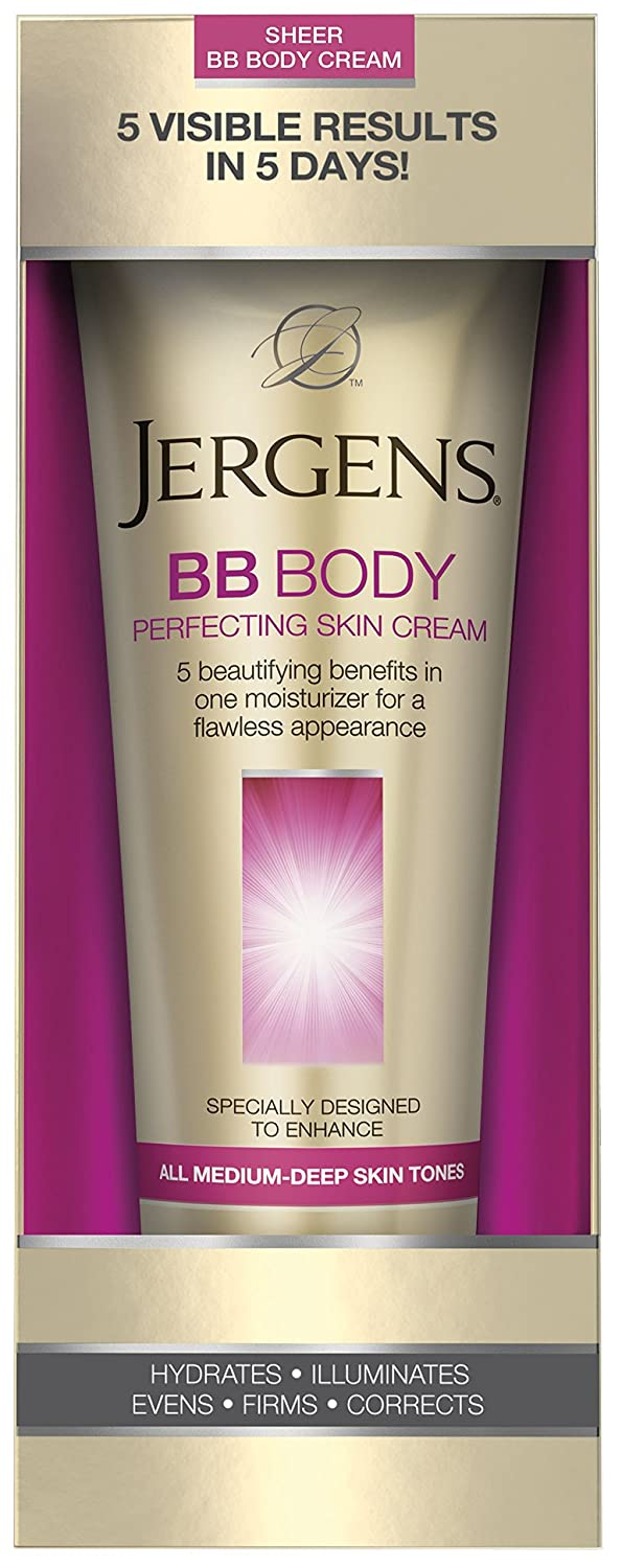 Jergens Bb Body Perfecting Skin Cream All Medium Deep Skin Tones for Unisex, 7.5 Ounce U-BB-2199
