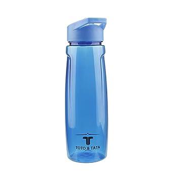 TOTO & TATA - Deportes Botella De Agua 750 ml Plástico y sin BPA