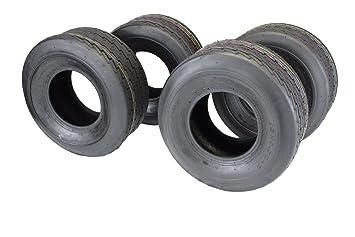 Amazon.com: Conjunto de cuatro 18 x 8.50 – 8 4 Ply Turf Tire ...