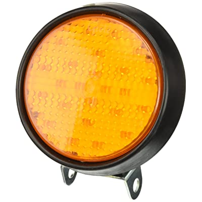 Grote 77193 Yellow LED Strobe Light In Rubber Housing: Automotive