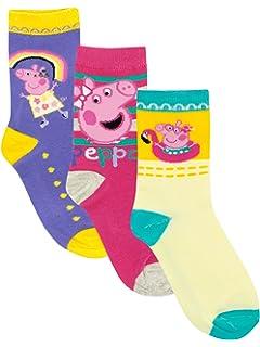 Peppa Pig - Calcetines Paquete de 3 para niñas - Peppa