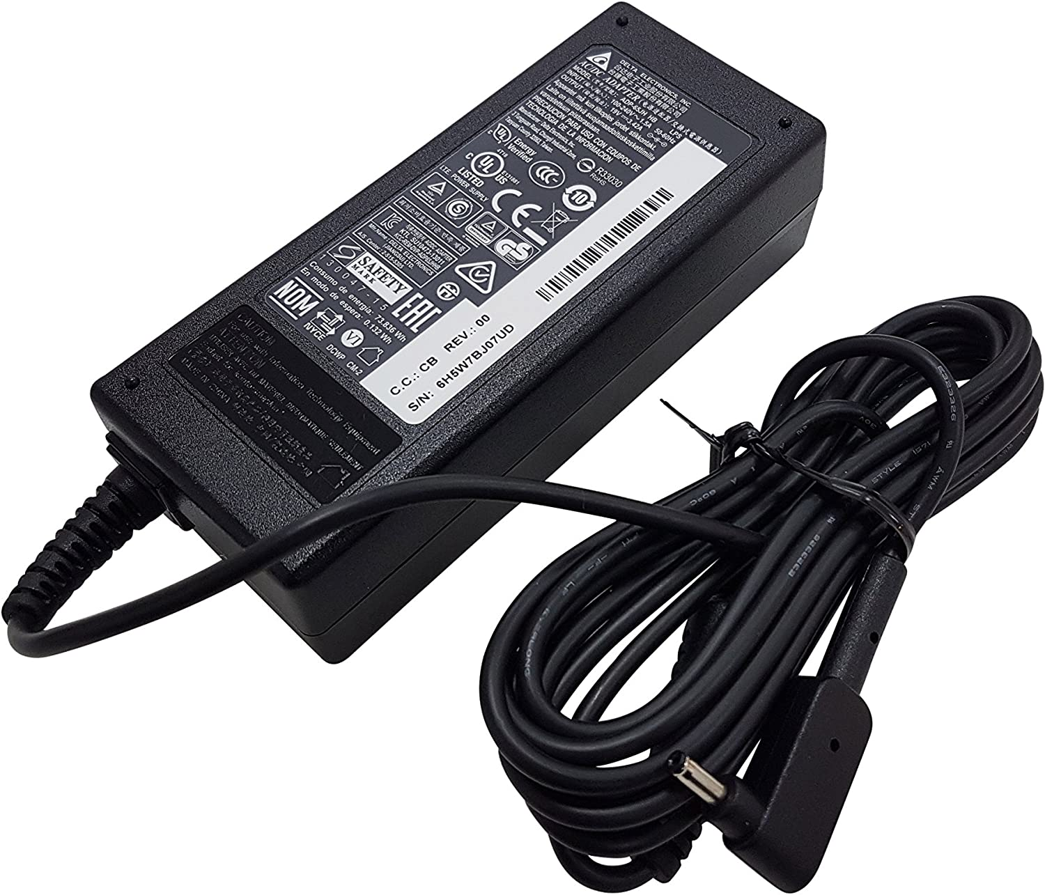 Acer Chromebook CB5 CB5-571 C720 C720P S7-191 S7-391 S7-392 Iconia W700 Laptop Charger AC Adapter Power Supply Cord