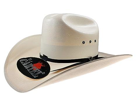 119092d1090f6 El General Men s Western Hat Sombrero 500X El Cartel Color Ivory at ...