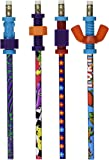 School Specialty 27233 3568 Abilitations Pencil Set with Fidgets, Assorted, Set of 4