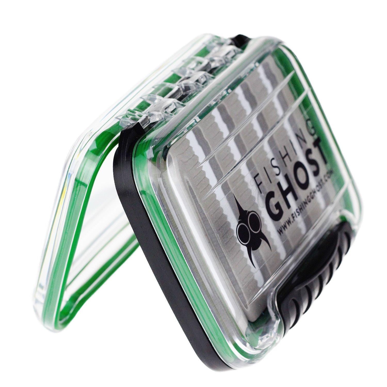 Large Medium wasserdicht Blinker und Fliegen bietet viel Platz f/ür bis zu 220//288 Spoons passt in Jede Jacke oder Tasche FISHINGGHOST/® wasserdichte K/öderbox f/ür Spoons Spinner