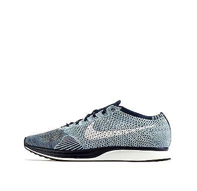 pas mal 20716 34442 Nike Flyknit Racer, Modern Jazz femme - bleu - Blue Tint ...