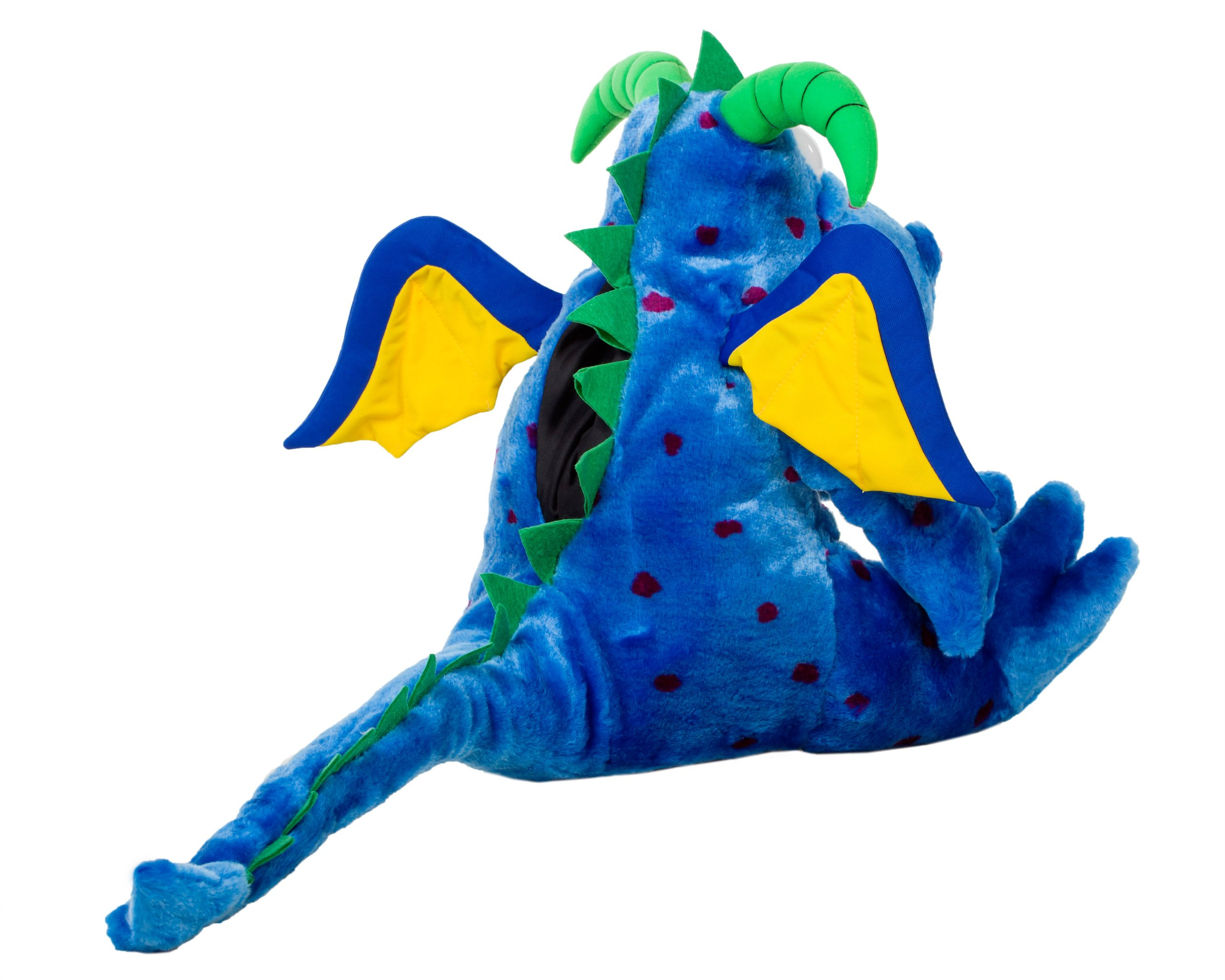 Oral Health Presentation Puppet Magi Dragon Educational Plush by StarSmilez (Image #2)