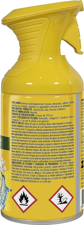 Casa Jardín Insecticida Aerosol | Acción Instantánea| Hogar Libre de Insectos |, Perfume Cocktail Cítrico |, Contenido 250 ml: Amazon.es: Hogar