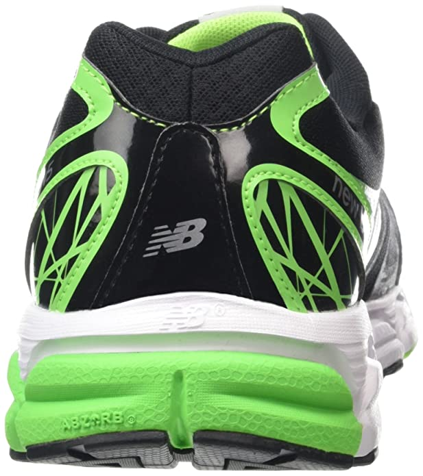 New Balance Nbm780Bg5 -, Homme, Noir (Black/Green), Taille, Noir (Black/Green (004)), 45.5 EU