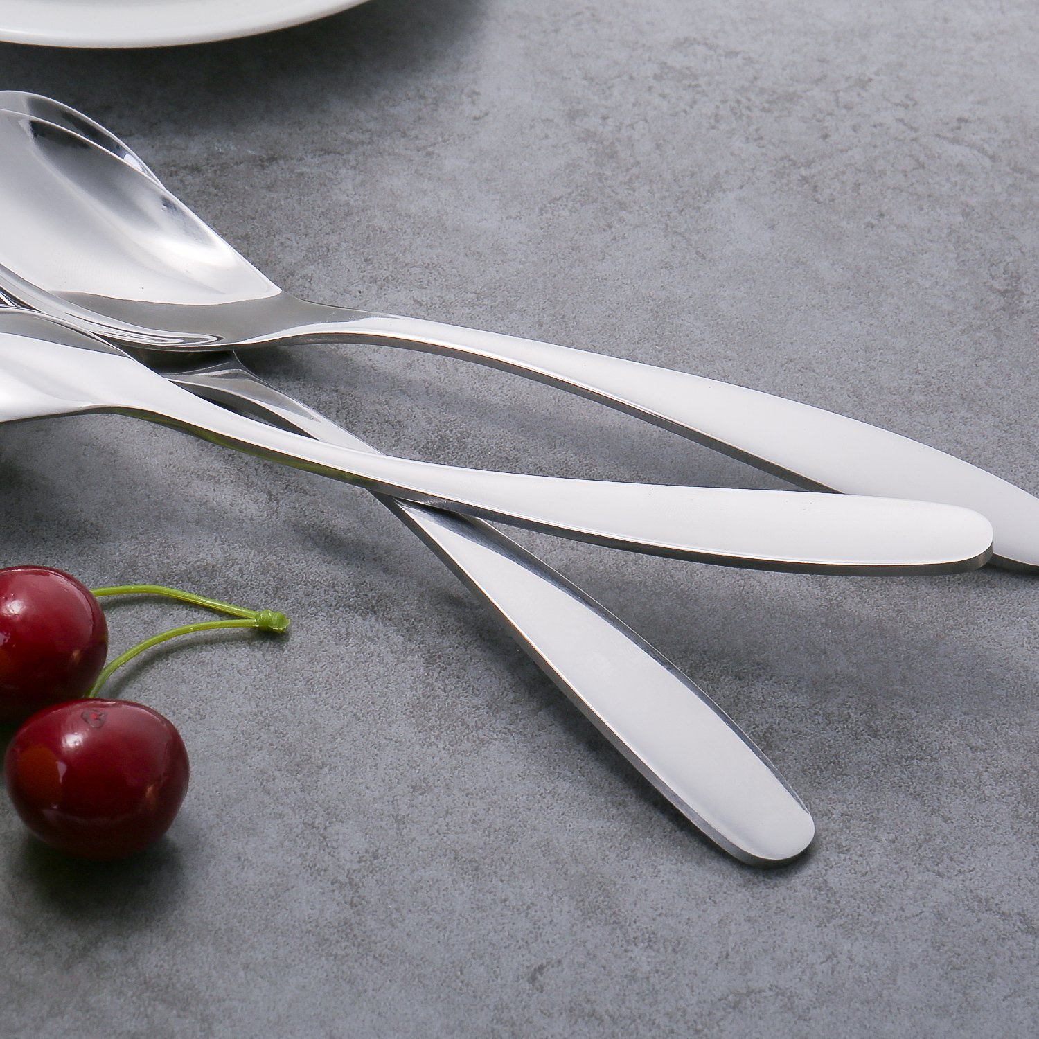 144  TEASPOONS WINDSOR FLATWARE 18//0 STAINLESS FREE SHIPPING US ONLY