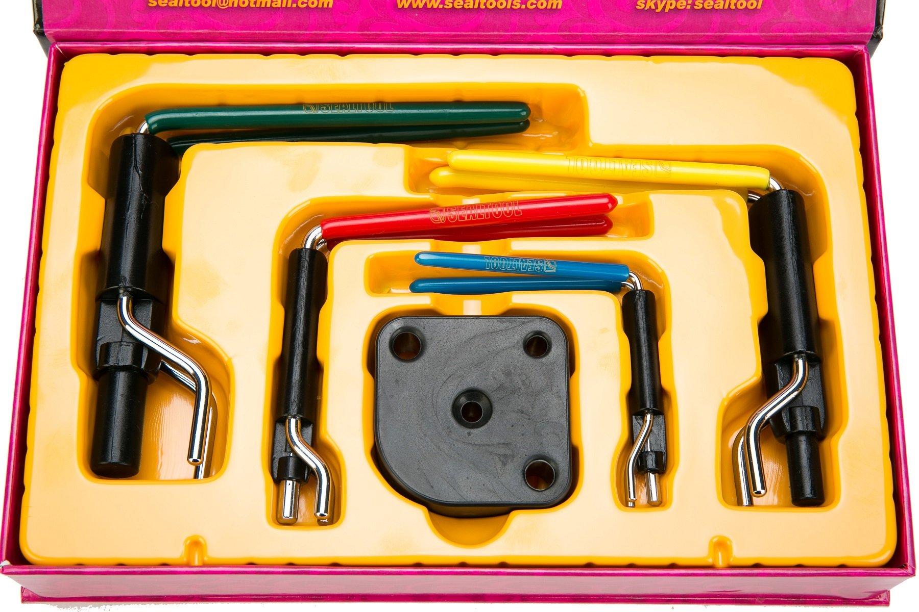 8milelake Hydraulic Cylinder Piston Rod Seal U-cup Installation Tool kit by 8MILELAKE (Image #7)