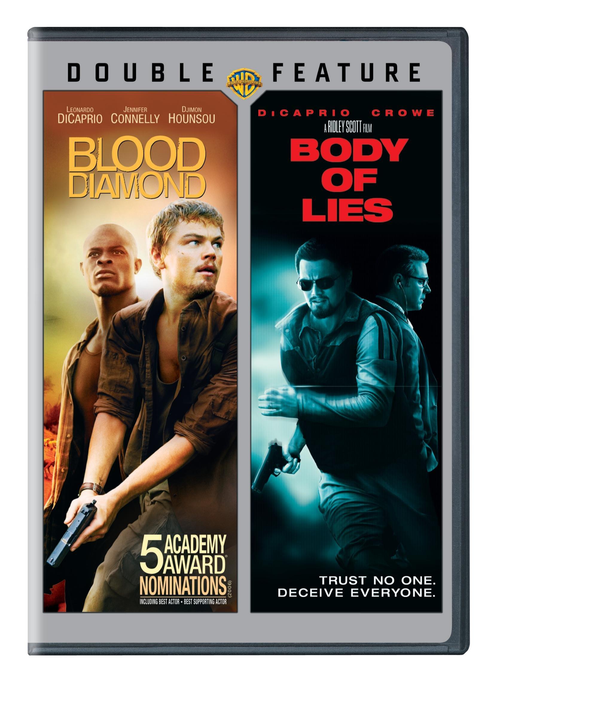 DVD : Blood Diamond / Body of Lies (2 Disc)