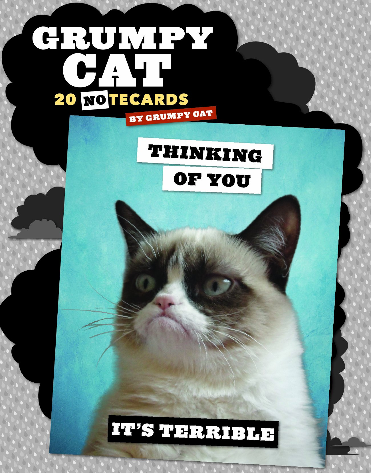 Grumpy Cat Notecards: 20 Notecards & Envelopes