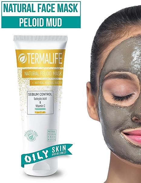 Plazo Alife sebium Control barro de máscara – Máscara facial piel para grasa – contra Alpinismo