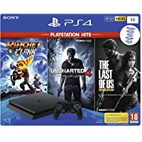 Playstation 4 (PS4) - Consola 1TB + Ratchet & Clank + The Last of Us + Uncharted 4