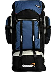 foolsGold Extra Large Hiking Travel Backpack Rucksack with Dual Loading
