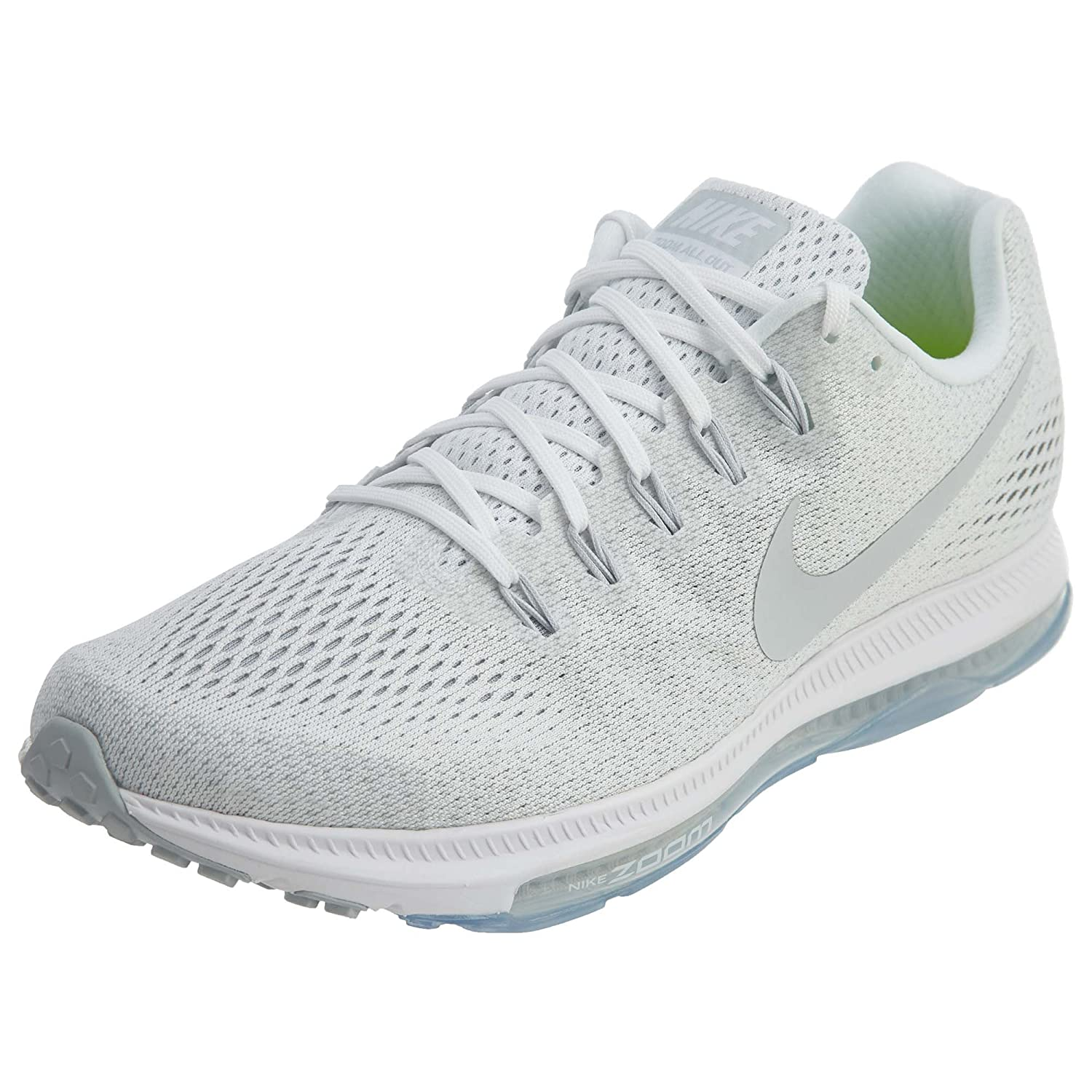 NIKE Zoom All Out Low Men's Running Sneaker B0711LFDFC 10.5 D(M) US|White/Pure Platinum