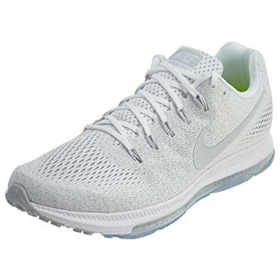 Nike Men's Zoom All Out Low Running Shoe, White/Pure Platinum, ...