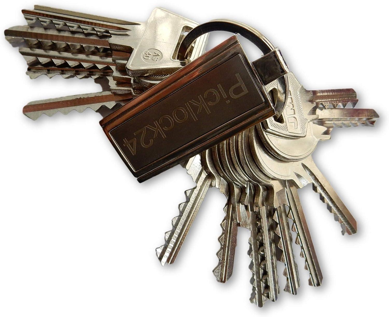 Picklock24. Juego de llaves universales Estados Unidos (14 llaves ...