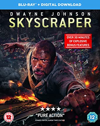 Skyscraper (2018) BDRip 720p 1.2GB Org [Hindi DD 5.1 – Eng DD 5.1] ESub MKV