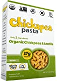 Chickapea Organic Chickpea and Red Lentil Pasta, Spirals (6 Pack)