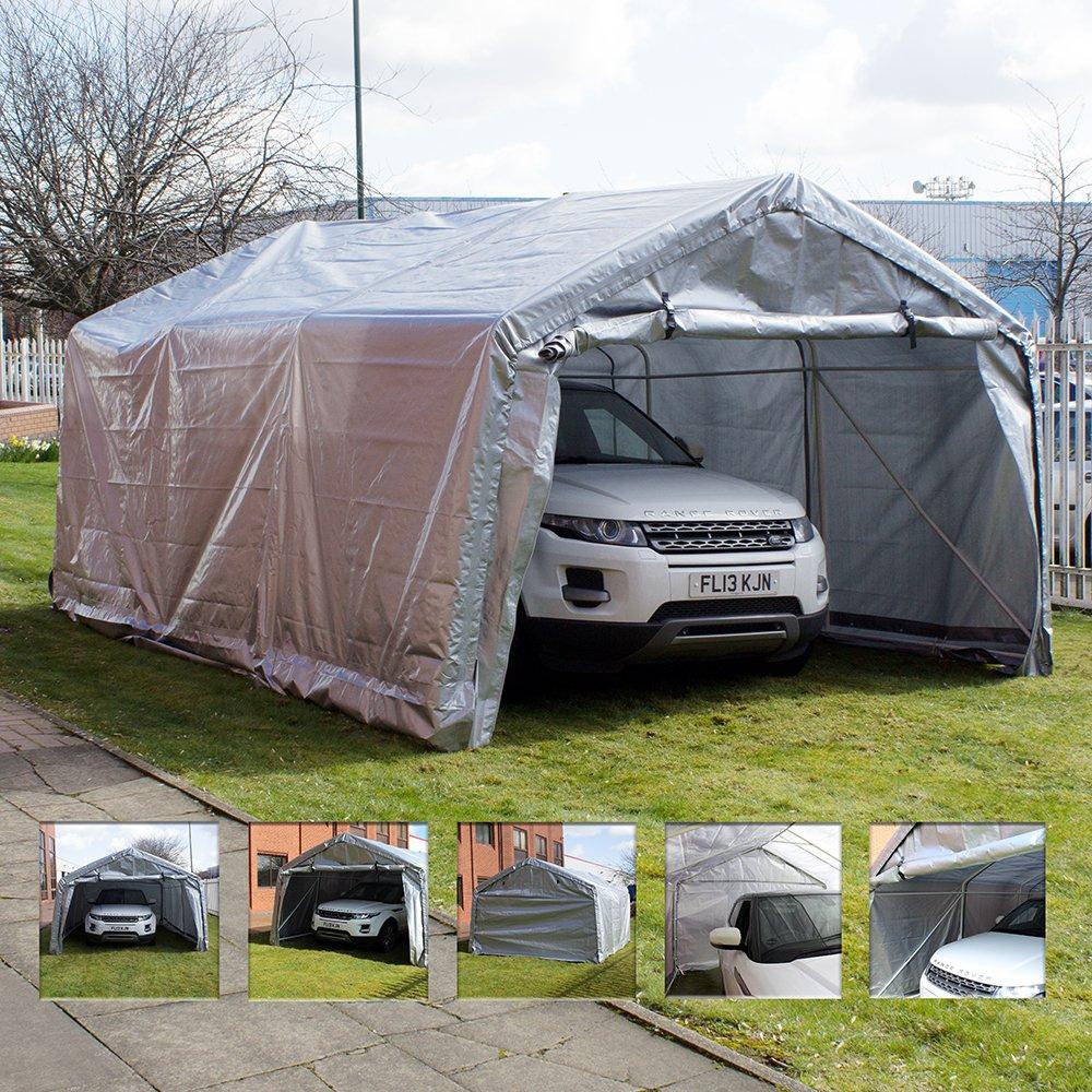 & Heavy Duty Instant Garage Car Port: Amazon.co.uk: Garden u0026 Outdoors