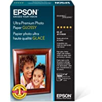 "Epson Ultra Premium Photo Paper Glossy - S042174, 4"" x 6"" (100 sheets)"