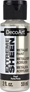 DecoArt 2 Ounce, Pearl Extreme Sheen Paint, 1