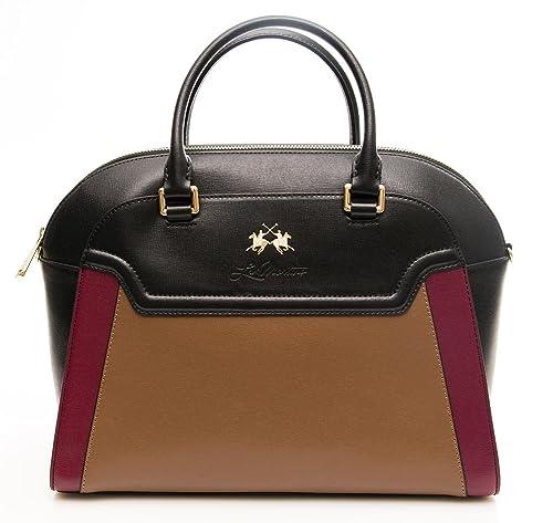 BORSA DONNA la portena handbag bla tau bu L63PW2430092T12  Amazon.it ... 965524ed7be