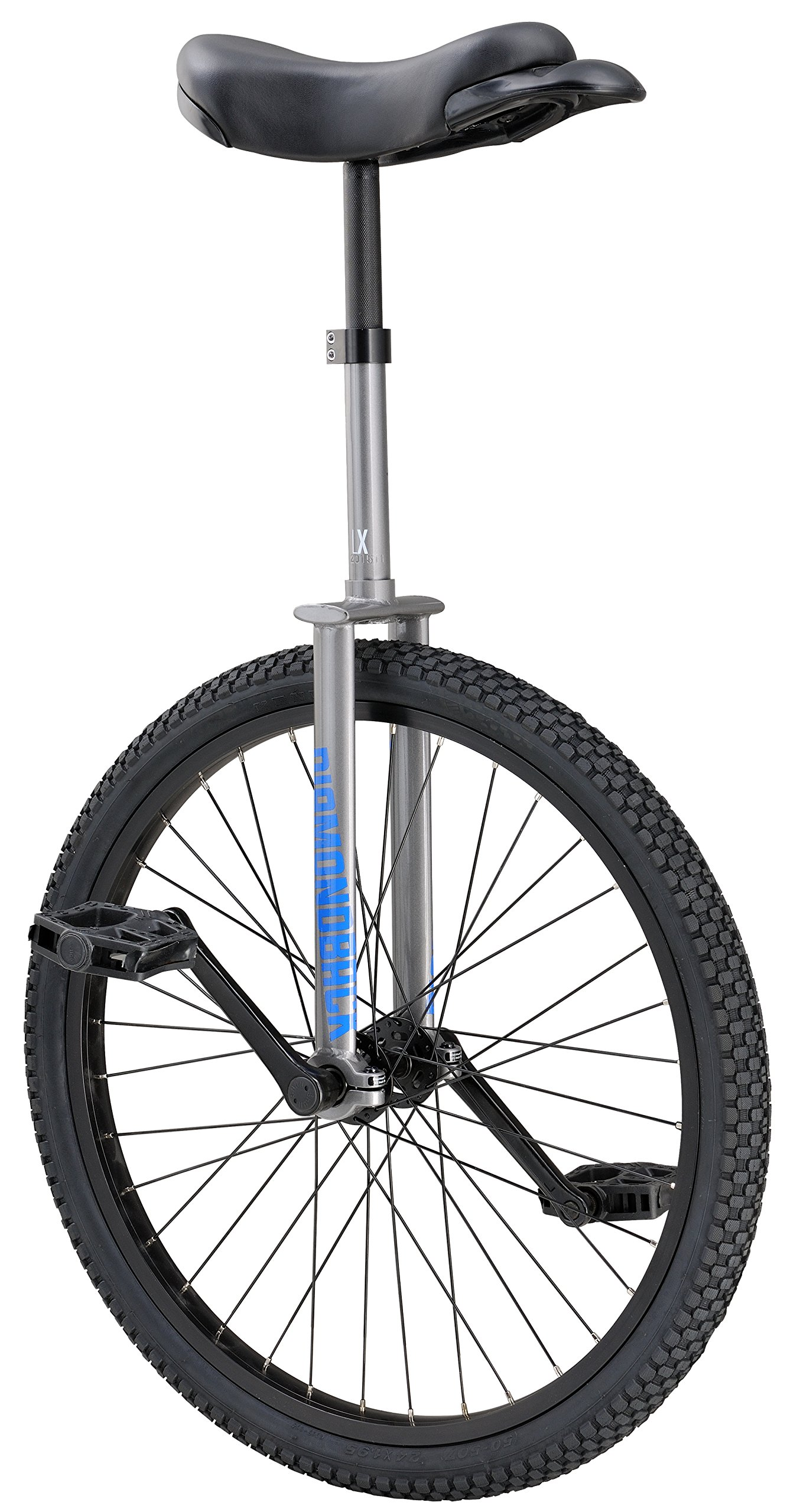 Diamondback Bicycles LX Wheel Unicycle, Silver, 24''/One Size