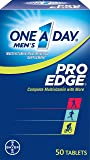 One-A-Day Men's Pro Edge Multivitamin Tablets, 50 Count