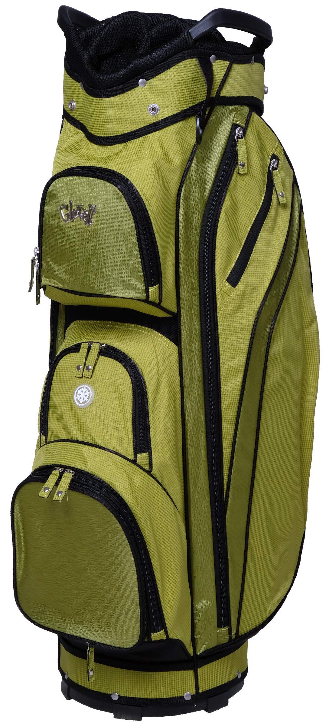 Glove It Women's Golf Bag Ladies 14 Way Golf Carry Bag - Golf Cart Bags for Women - Womens Lightweight Golf Travel Case - Easy Lift Handle - 2019 Kiwi Check by Glove It
