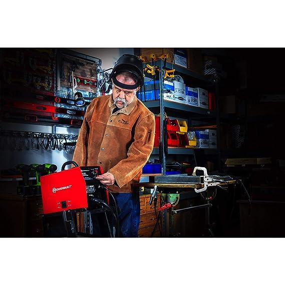 Powerbuilt 125A Portable IGBT Inverter Wire Feed MIG Flux Welder - 240131 - - Amazon.com