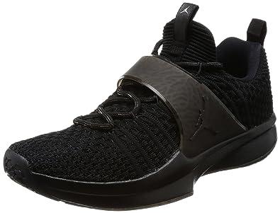 5255e4e1829d Nike Herren Air Jordan Trainer 2 Flyknit Schwarz Nike Air Jordan Trainer 2  Flyknit Trainingsschuhe