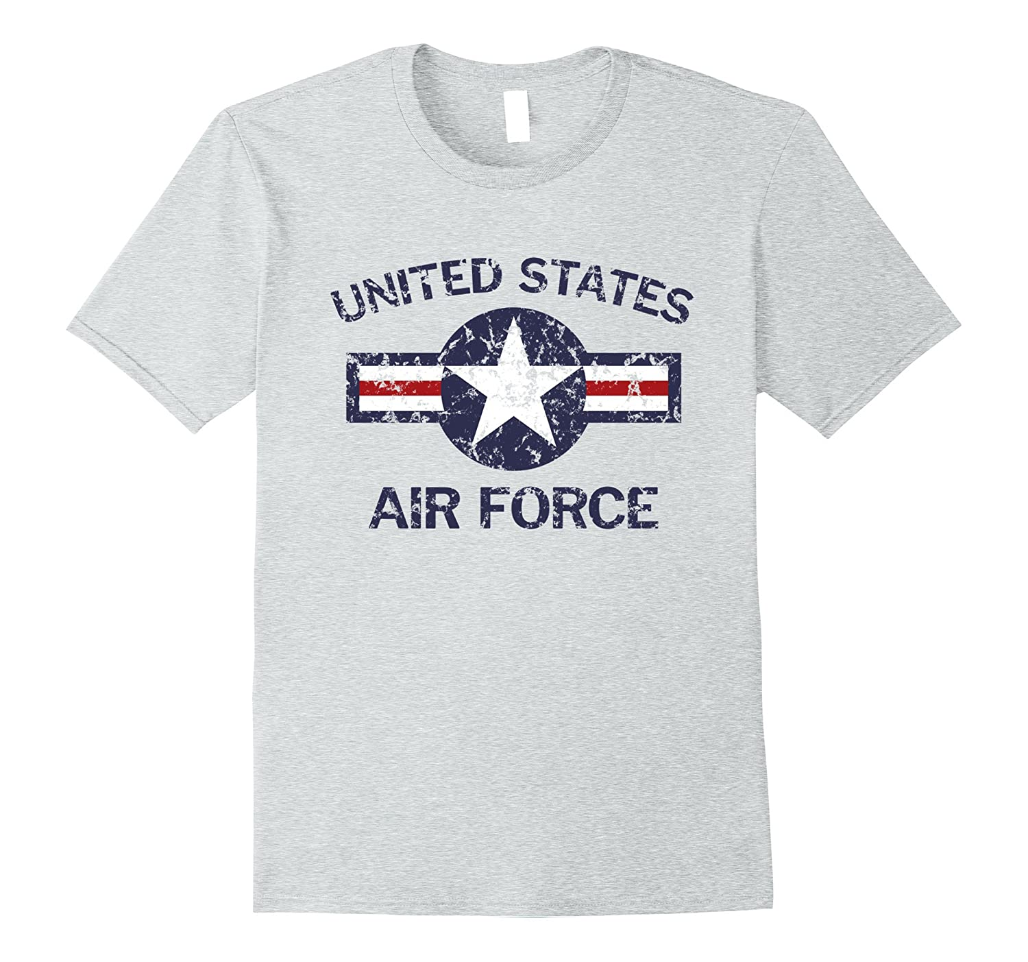 1c1c7278 United States Air Force Vintage Roundel Faded Grunge T-Shirt-ANZ ...