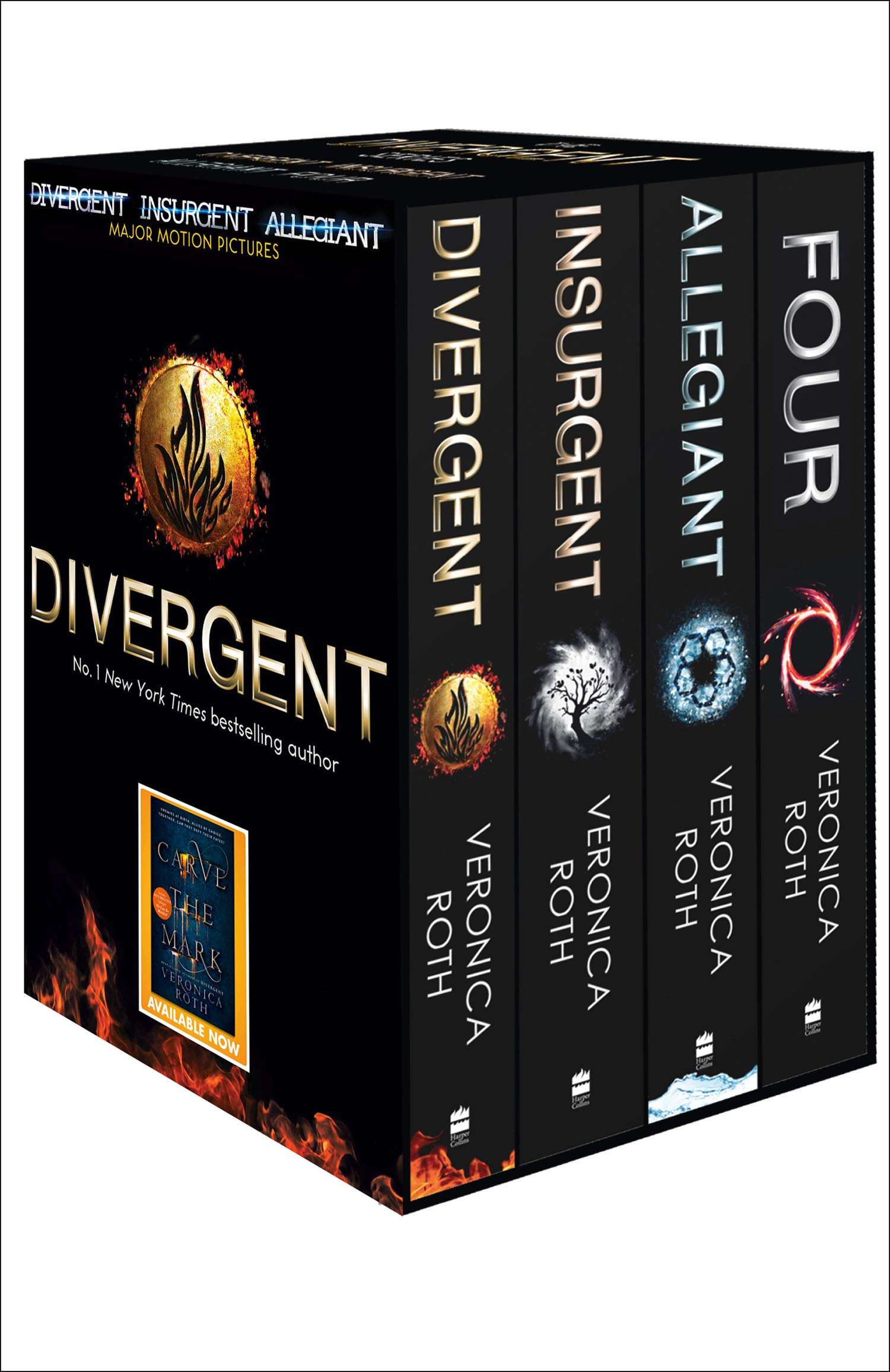 Divergent Series Box Set - Books 1-4: Amazon.es: Roth, Veronica: Libros en idiomas extranjeros