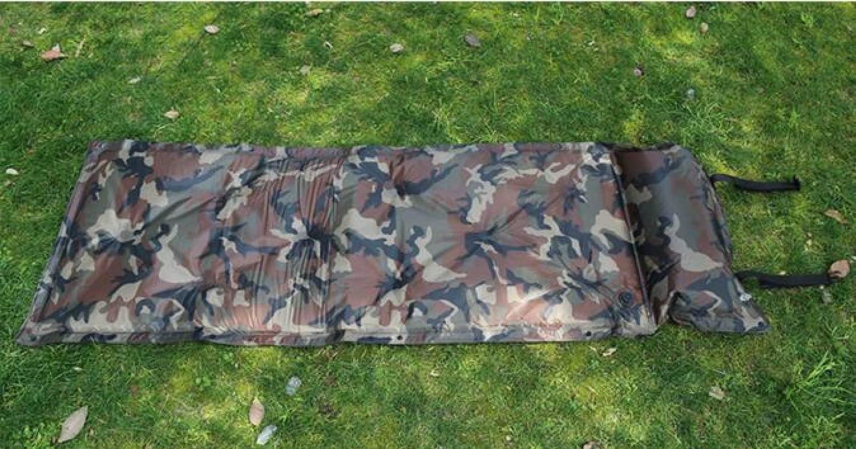 Outdoor Schlafen Matten Können Gespleißt Werden Outdoor Automatische Aufblasbare Pad Double Camouflage Camouflage Double Aufblasbare Pad,A2
