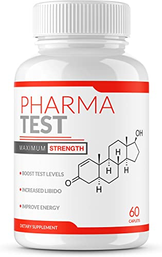 PHARMA Test Testosterone Booster Testosterone Booster for Men Booster Supplement Test Booster for Energy Horny Goat Weed Tongkat Ali Boron