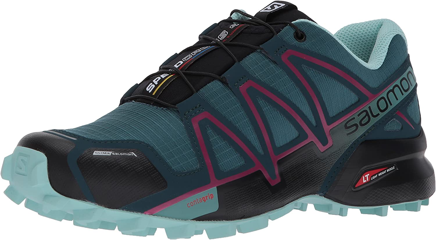 SALOMON Speedcross 4 CS W, Zapatillas de Trail Running para Mujer ...