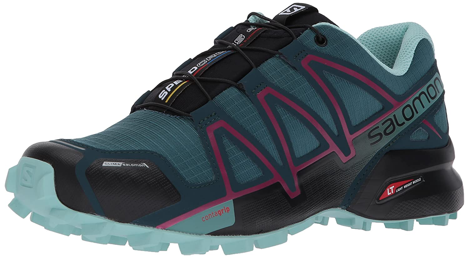 Bleu (Mallard bleu Reflecting Pond Eggshell 000) SALOMON Speedcross 4 CS W, Chaussures de Trail Femme 43 1 3 EU