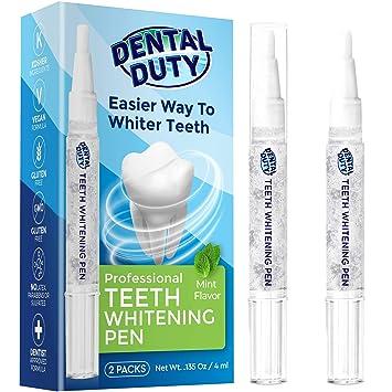 Amazon Com Dental Duty Teeth Whitening Pen 2 Pens 35