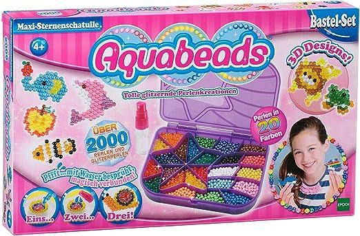 Aquabeads 79448 - Niños Craft Kits - Caja Maxi-Star: Amazon.es: Oficina y papelería