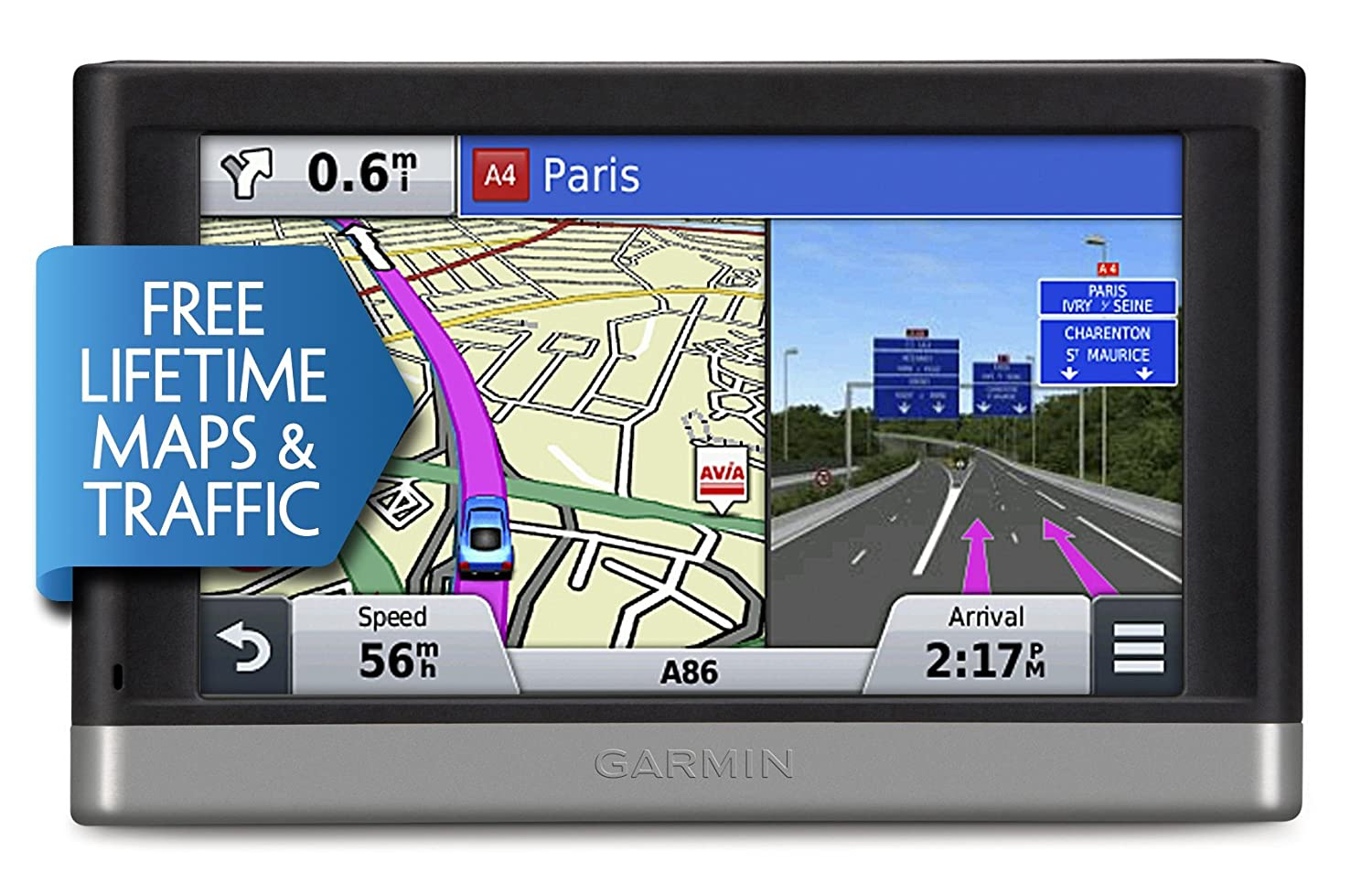 garmin nuvi lmt  inch satellite navigation with uk and full europe mapsfree lifetime map updates and free lifetime traffic alerts amazoncouk. garmin nuvi lmt  inch satellite navigation with uk and full