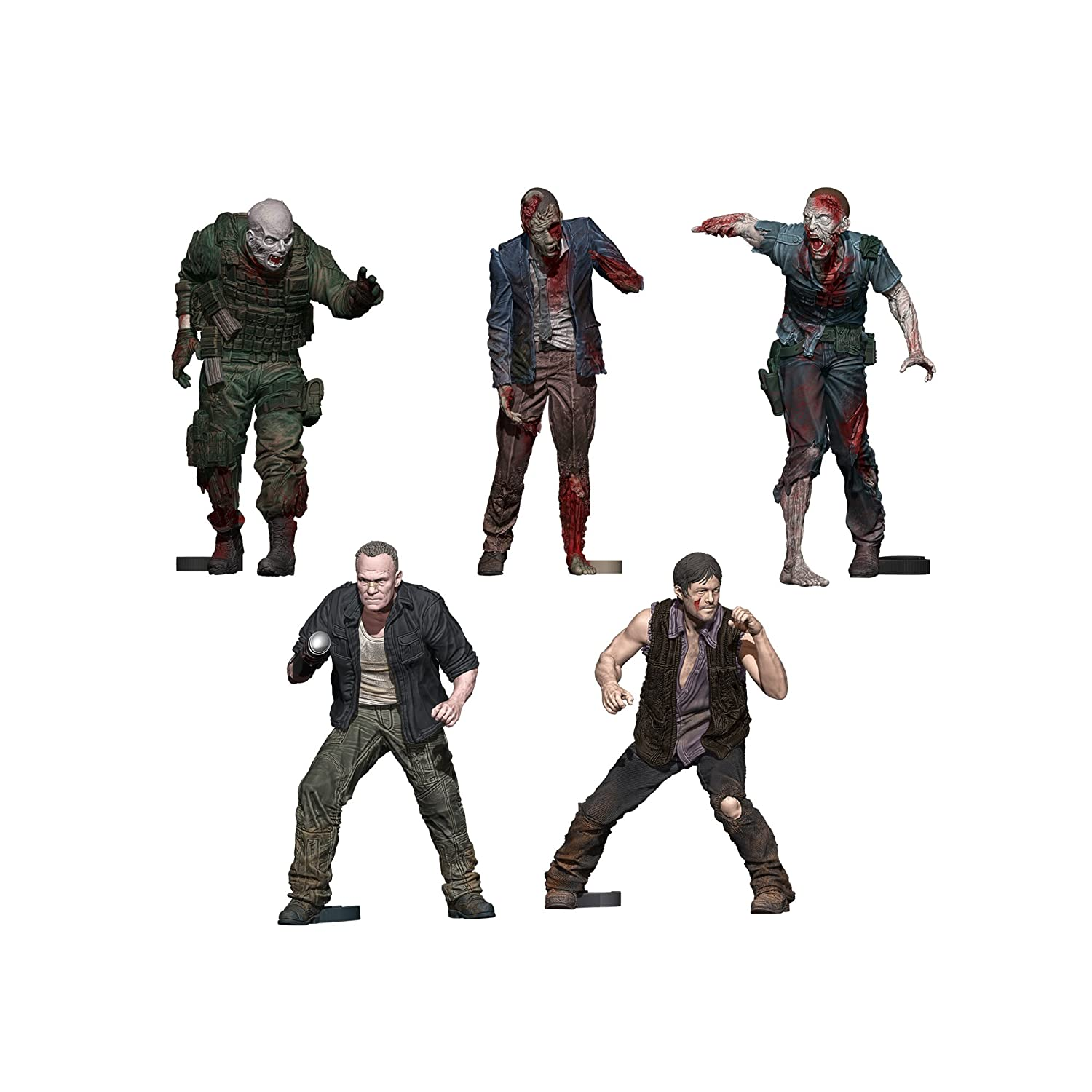 McFarlane Toys Construction Sets, The Walking Dead TV Merle & Daryl Woodbury Arena Pack Action Figure
