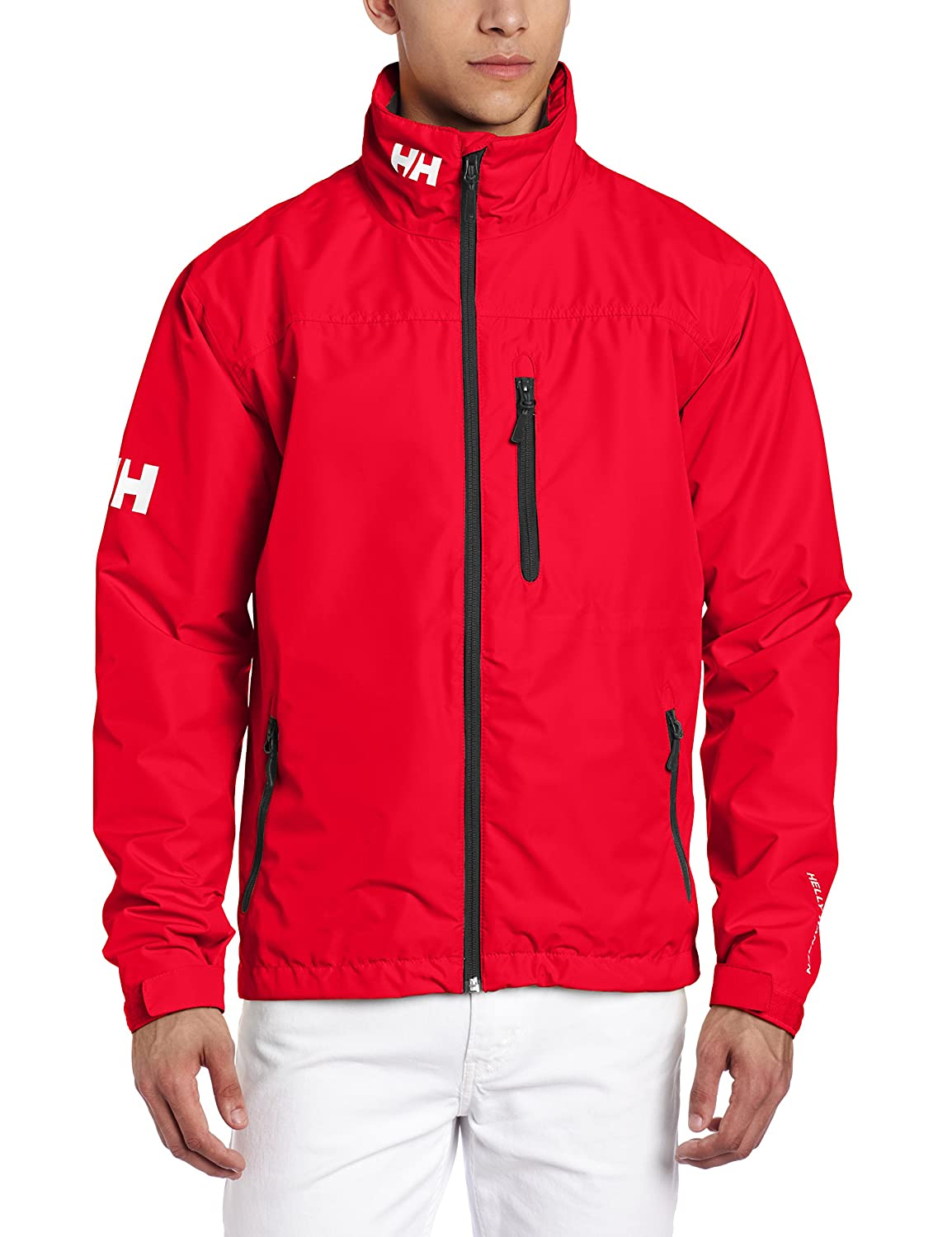 Helly Hansen Crew Midlayer Jacket, Chaqueta Impermeable para Hombre, Color Rojo (Red), Talla XL: Amazon.es: Deportes y aire libre