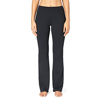 Brand - Core 10 Women's (XS-3X) 'Build Your Own' Yoga Bootcut Pant (Inseams, Waist Styles Available): Clothing
