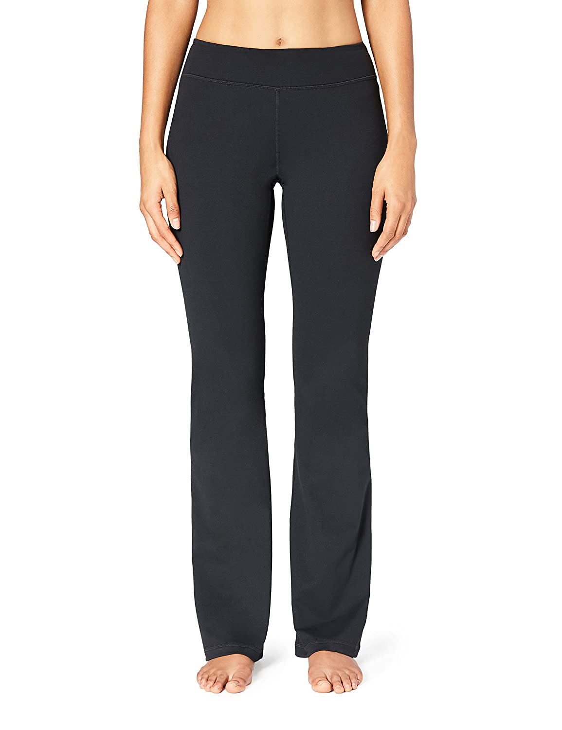 Amazon Brand - Core 10 Women's (XS-3X) 'Build Your Own' Yoga Bootcut Pant (Inseams, Waist Styles Available)