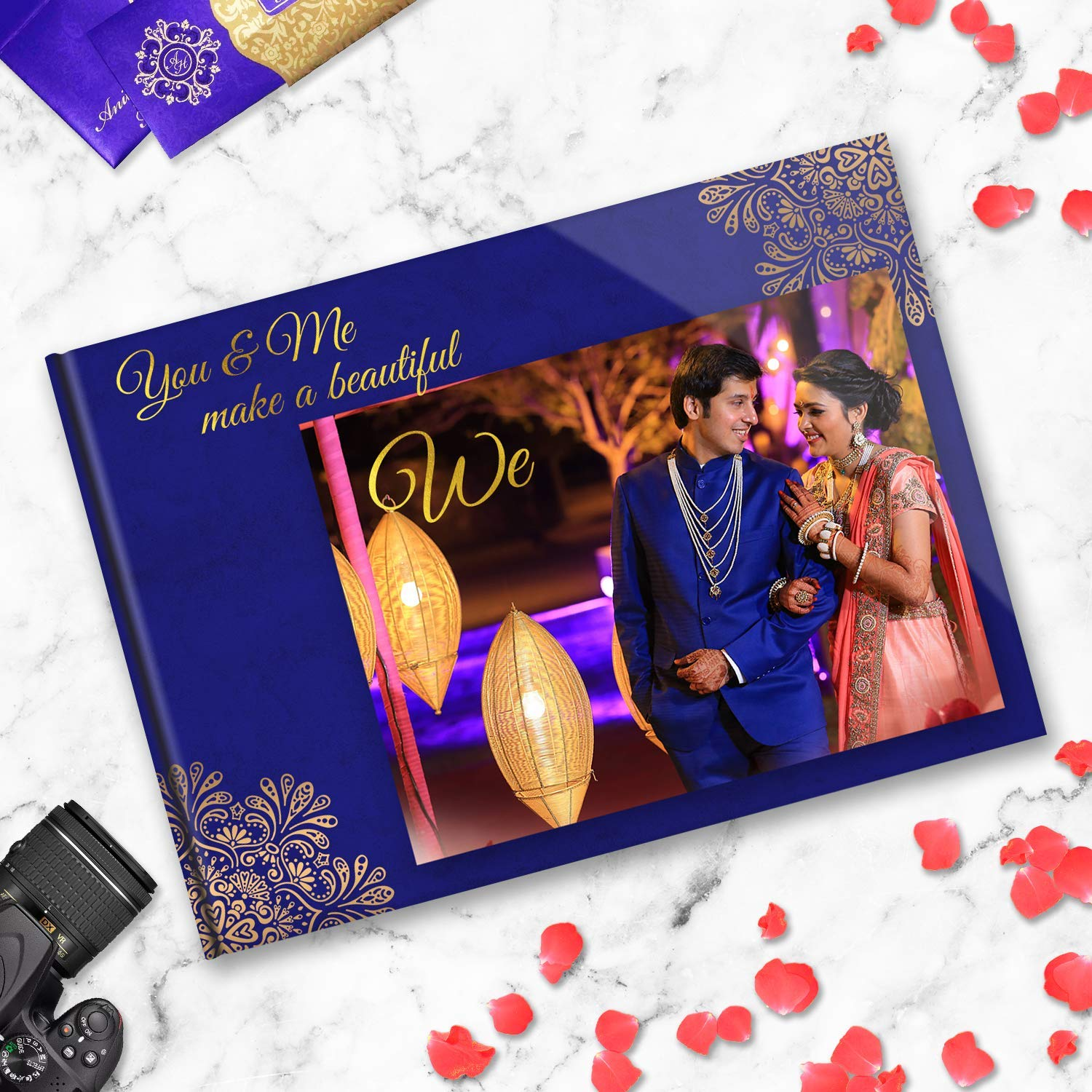 Presto Personalized Photo Album Digital Romantic Wedding Gift For Couples 18 X 12 Amazon In Office Products