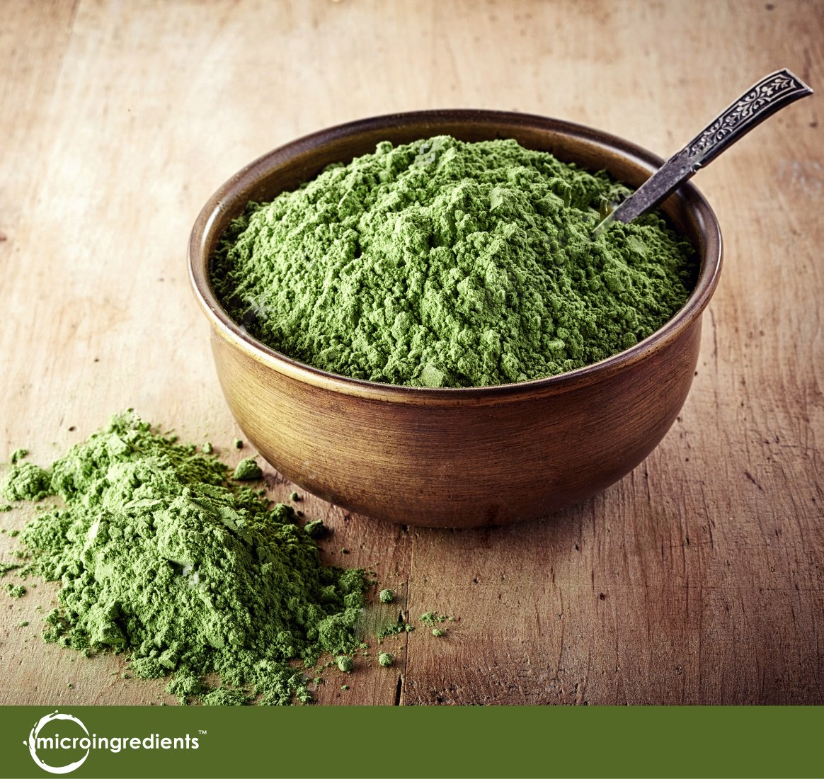 Sustainably US Grown, Organic Wheat Grass Powder, 150 Serving (1 Pound), Rich Fiber, Chlorophyll, Antioxidants, Essential Amino Acids, Fatty Acids, Minerals & Vitamins. Best Vegan & Non-GMO SuperFoods by Micro Ingredients (Image #2)